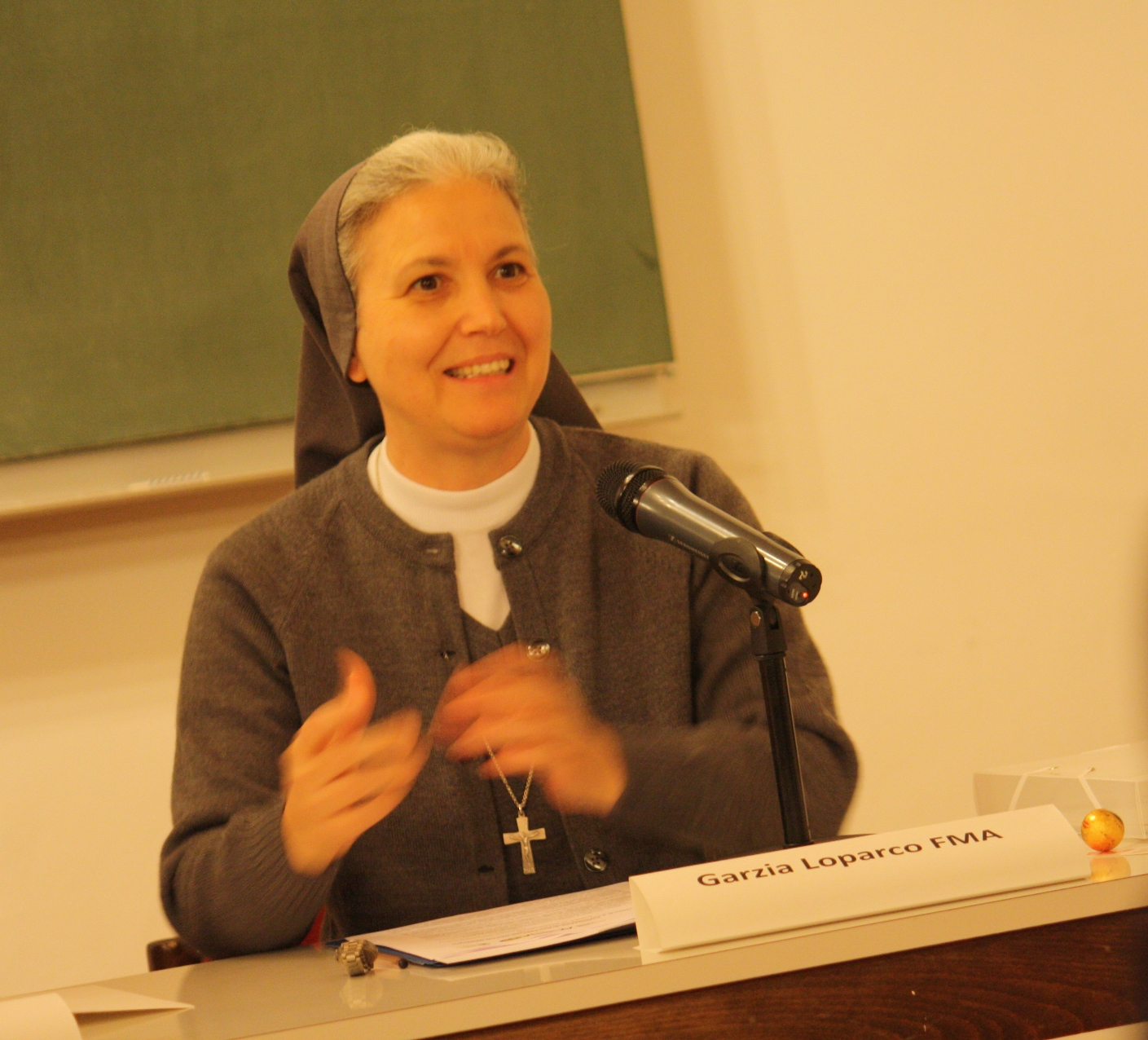 sr Grazia Loparco, Presidente ACSSA